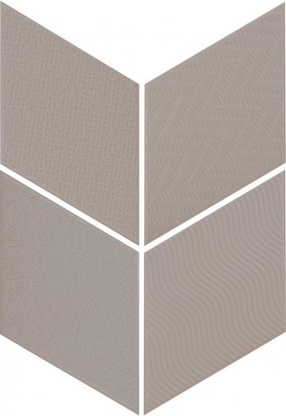 Equipe Rhombus Dark Grey 14 x 24 cm