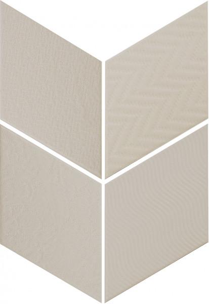 Equipe Rhombus Light Grey 14 x 24 cm