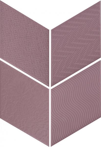 Equipe Rhombus Violet 14 x 24 cm