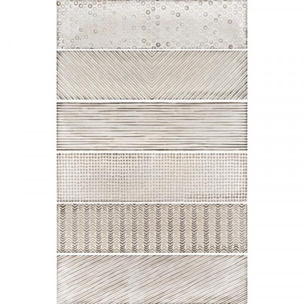 Equipe Splendours Fabric Brown 7,5 x 30 cm