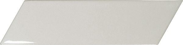 Equipe Chevron Wall Light Grey Left 18,6 x 5,2 cm