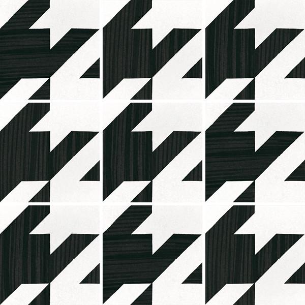 Equipe Caprice Deco Tweed B&W 20 x 20 cm