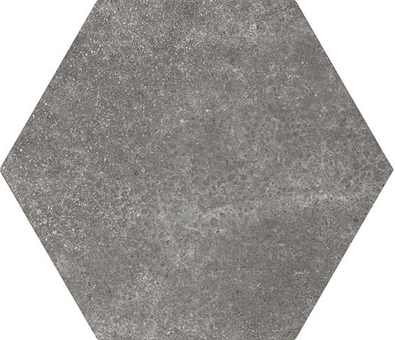 Equipe Hexatile Cement Black 17,5 x 20 cm