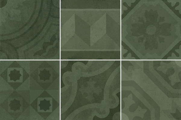 Equipe Antiqva Encants Green 20 x 20 cm