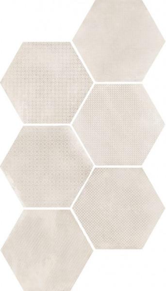 Equipe Urban Hexagon Melange Natural 29,2 x 25,4 cm