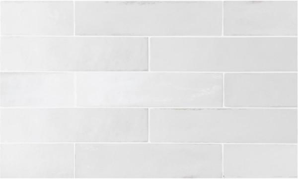 Equipe Tribeca Gypsum White 6 x 24,6 cm