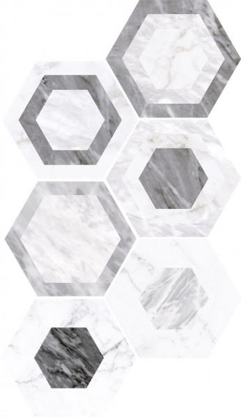 Equipe Bardiglio Geo 17,5 x 20 cm
