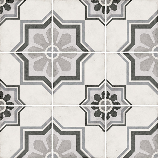 Equipe Art Nouveau Capitol Grey 20 x 20 cm