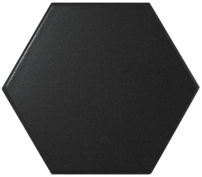 Equipe Scale Hexagon Black Matt 12,4 x 10,7 cm