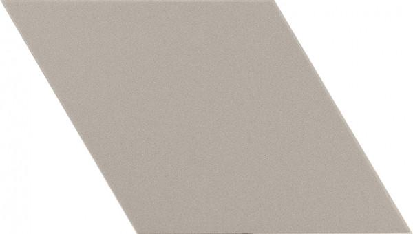 Equipe Rhombus Light Grey Smooth 14 x 24 cm