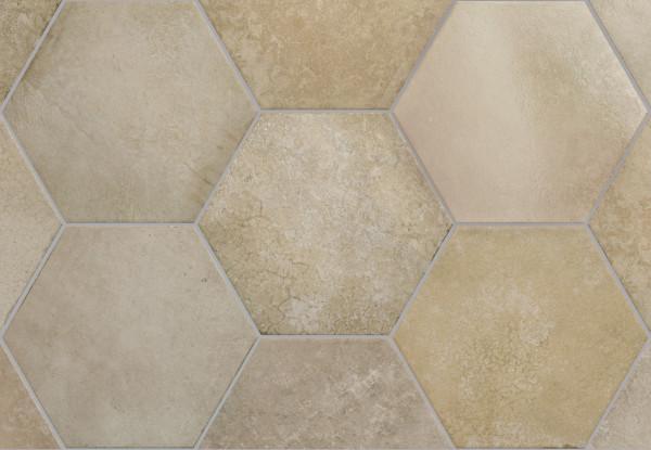 Equipe Heritage Hexagon Wheat 17,5 x 20 cm