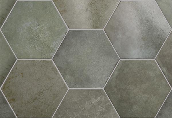 Equipe Heritage Hexagon Jungle 17,5 x 20 cm