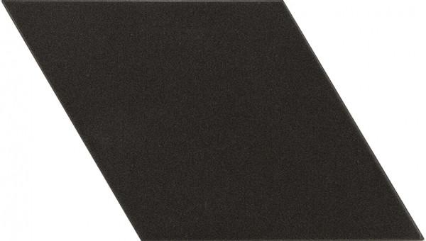 Equipe Rhombus Black Smooth 14 x 24 cm