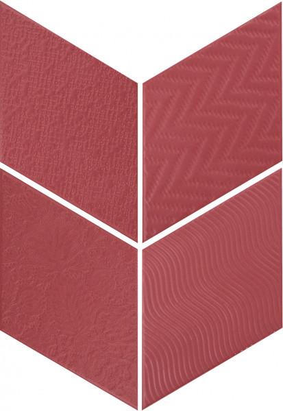 Equipe Rhombus Red 14 x 24 cm