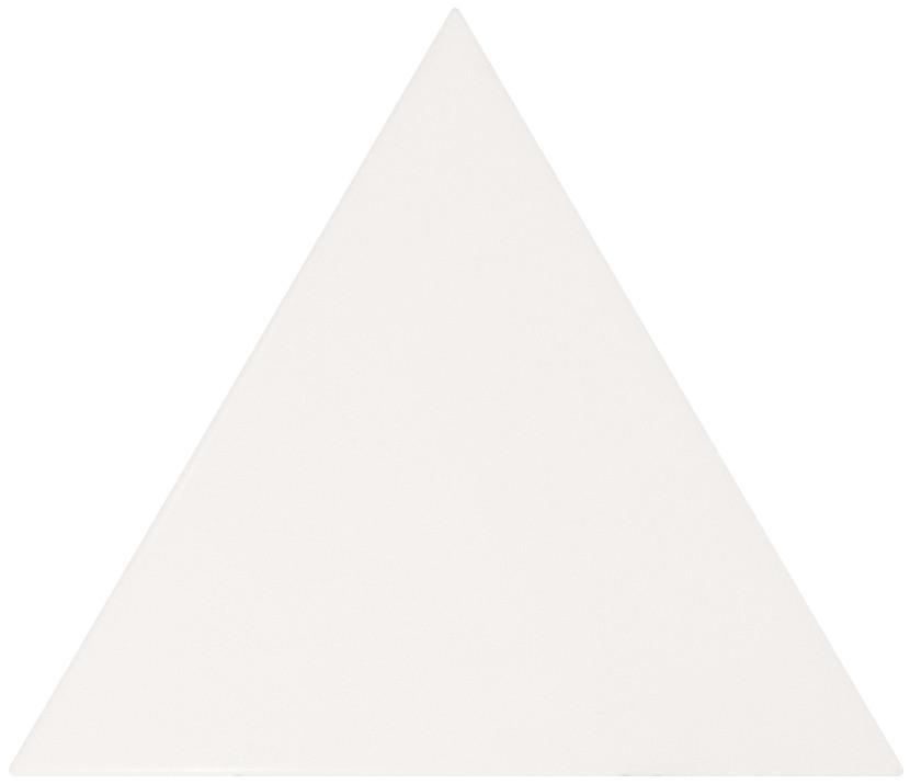 Equipe Scale Triangolo White Matt 10,8 x 12,4 cm