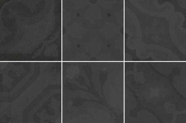 Equipe Antiqva Encants Graphite 20 x 20 cm