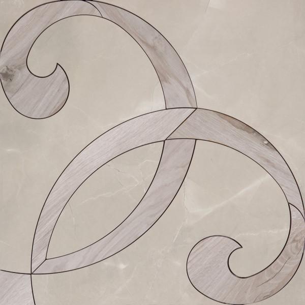 ABK Grace Dec. Intarsio Pulpis 60 x 60 cm