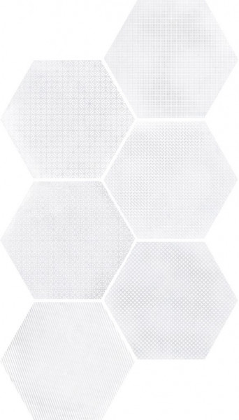 Equipe Urban Hexagon Melange Light 29,2 x 25,4 cm