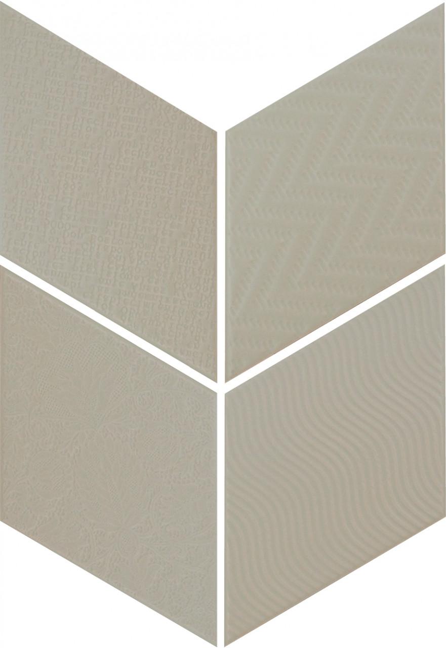 Equipe Rhombus Green 14 x 24 cm