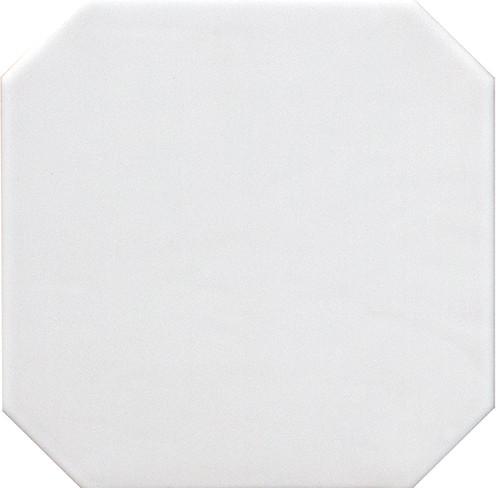 Equipe Octagon Blanco Mate 20 x 20 cm