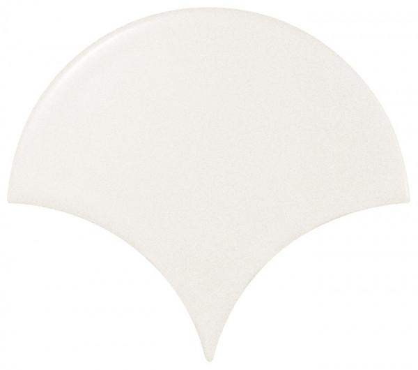 Equipe Scale Fan White Matt 10,6 x 12 cm
