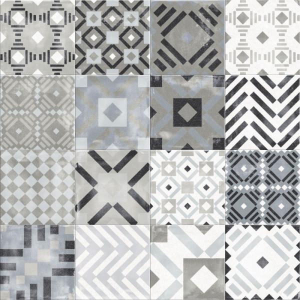 ABK Play Labyrinth Mix Grey 20 x 20 cm