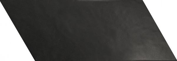 Equipe Chevron Negro Mate Right 9 x 20,5 cm