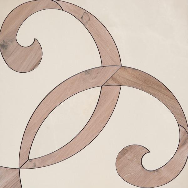 ABK Grace Dec. Intarsio Alabastro 60 x 60 cm
