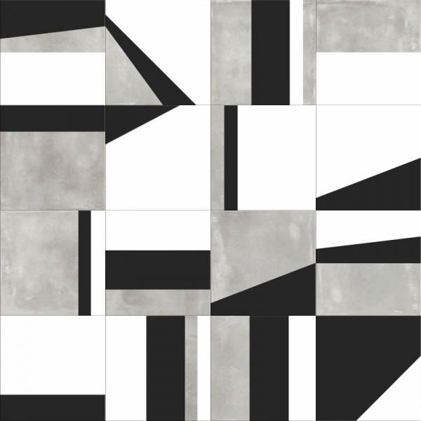 ABK Play Edge Mix Grey 20 x 20 cm