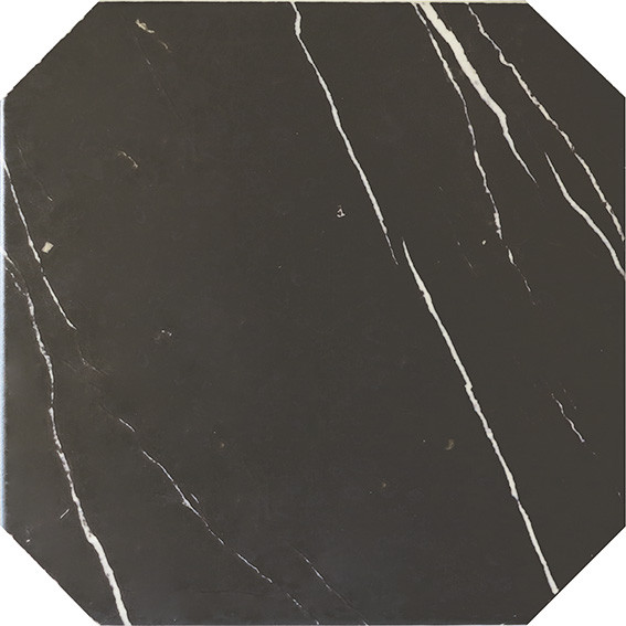 Equipe Octagon Marmol Negro 20 x 20 cm