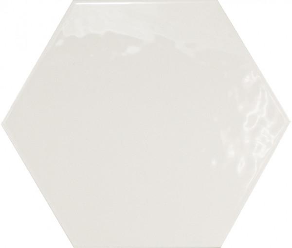 Equipe Hexatile Blanco Brillo 17,5 x 20 cm