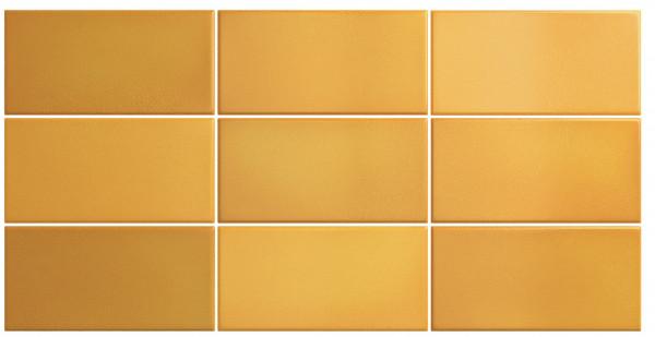 Equipe Crackle Mustard 7,5 x 15 cm