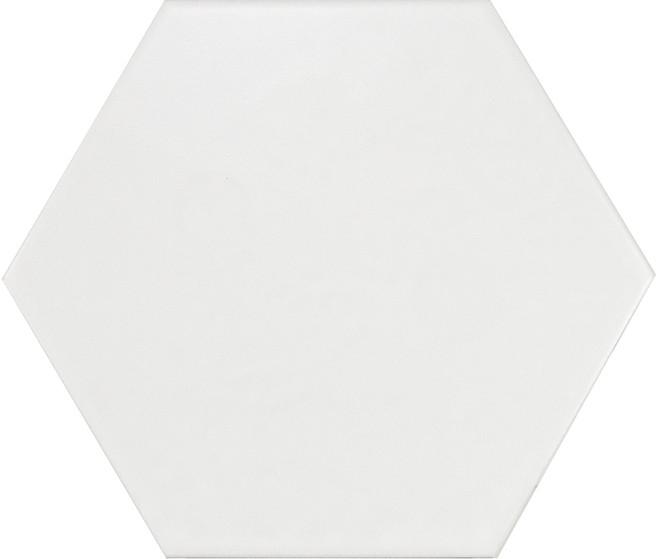 Equipe Hexatile Blanco Mate 17,5 x 20 cm