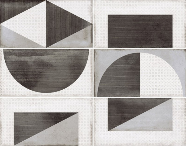 Equipe Splendours Random Grey 7,5 x 15 cm