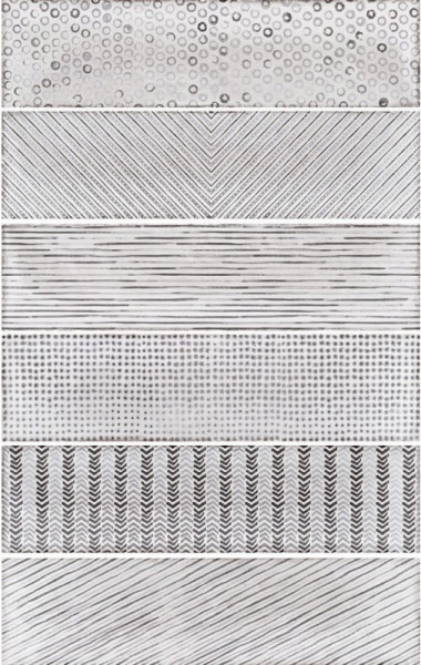 Equipe Splendours Fabric Grey 7,5 x 30 cm