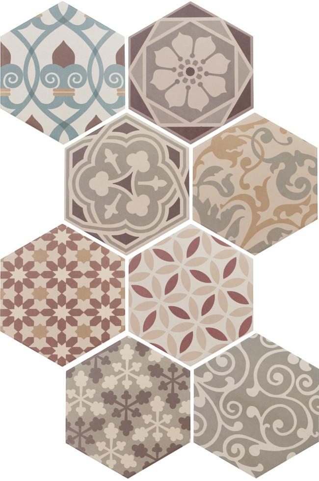 Equipe Hexatile Harmony Colours 17,5 x 20 cm